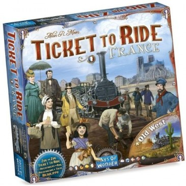Les Aventuriers du Rail - France & Old West